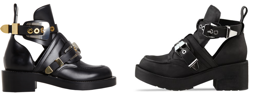 Balenciaga vs Jeffrey Campbell